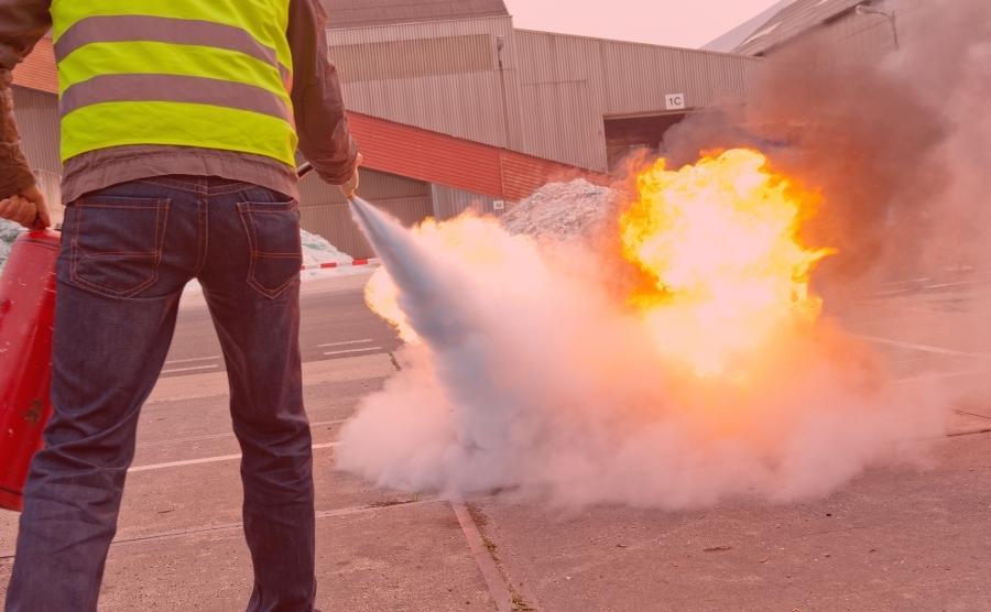 Curso de protección contra incendios