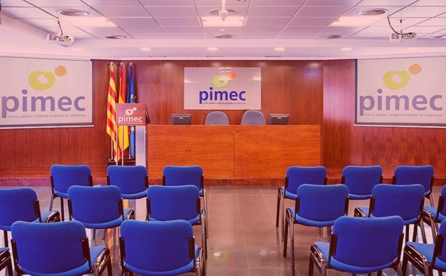 La reunió de GRIMEC va tenir lloc a les instal·lacions de PIMEC.